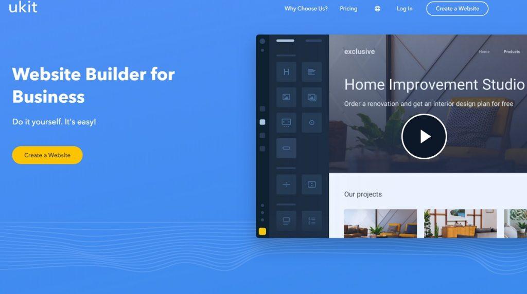 diy website builder